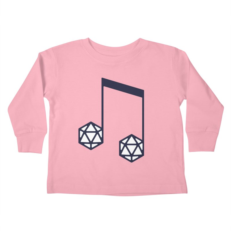 bomBARDed Logo (no text) Kids Toddler Longsleeve T-Shirt by bomBARDed Merch!