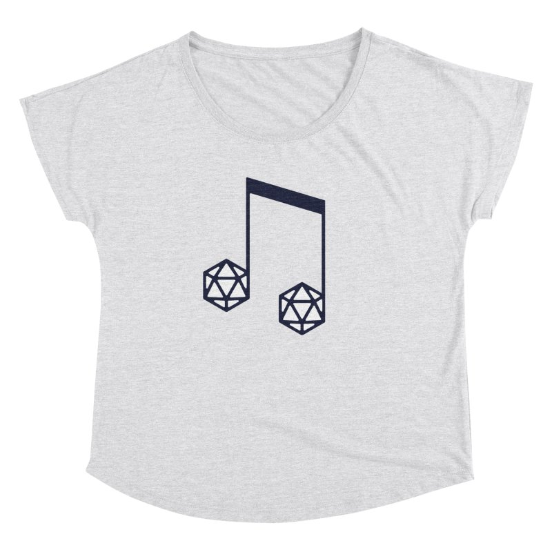 bomBARDed Logo (no text) Women's Dolman Scoop Neck by bomBARDed Merch!
