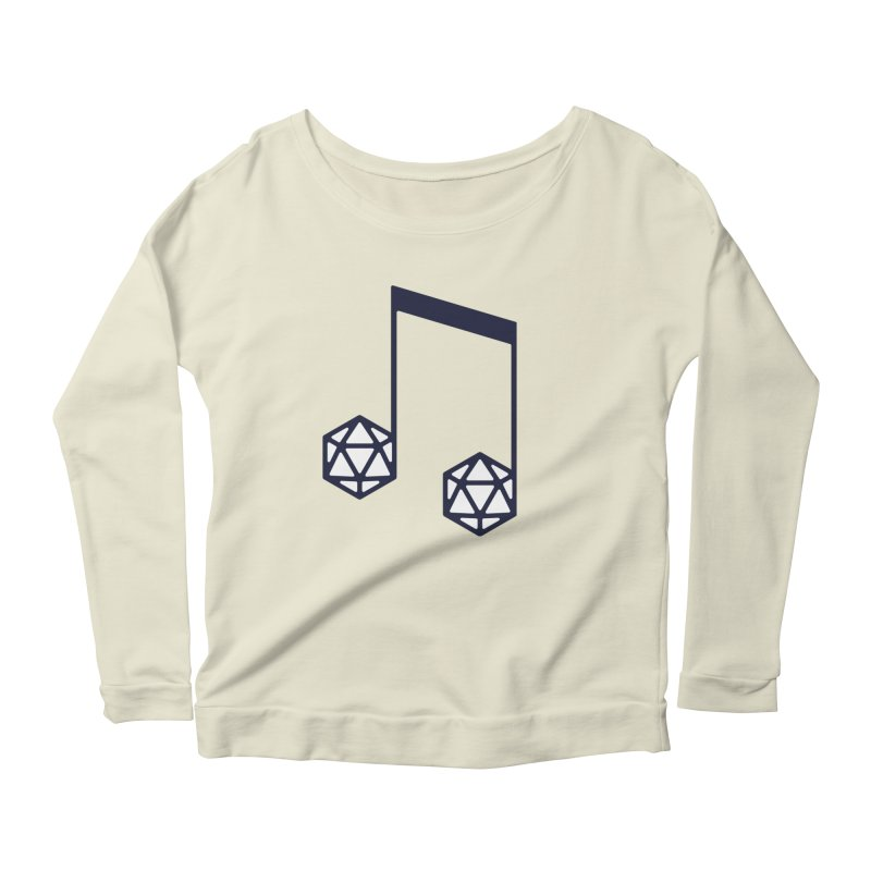 bomBARDed Logo (no text) Women's Scoop Neck Longsleeve T-Shirt by bomBARDed Merch!