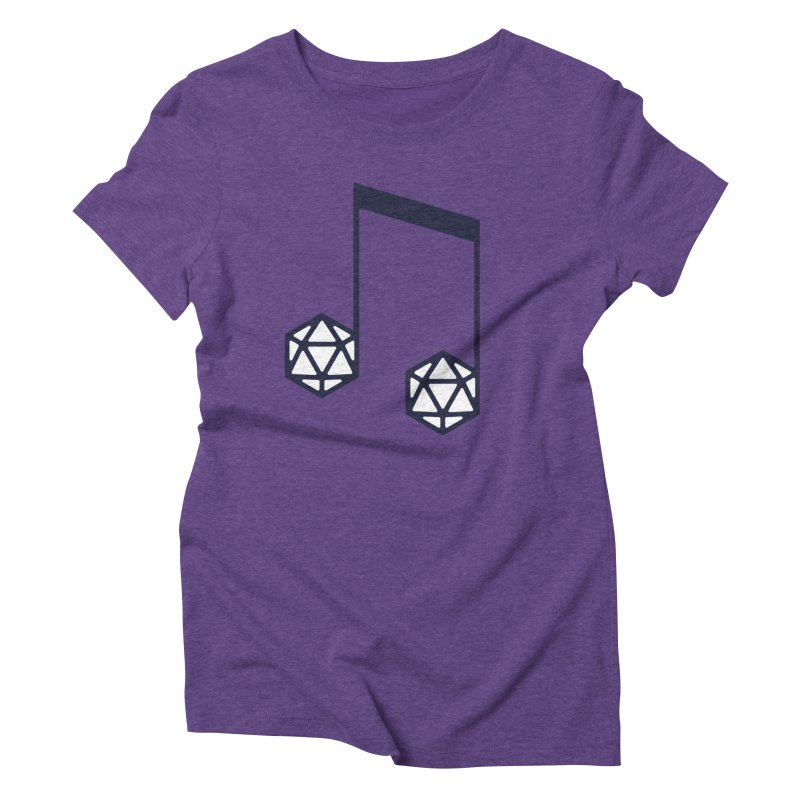 bomBARDed Logo (no text) Women's Triblend T-Shirt by bomBARDed Merch!