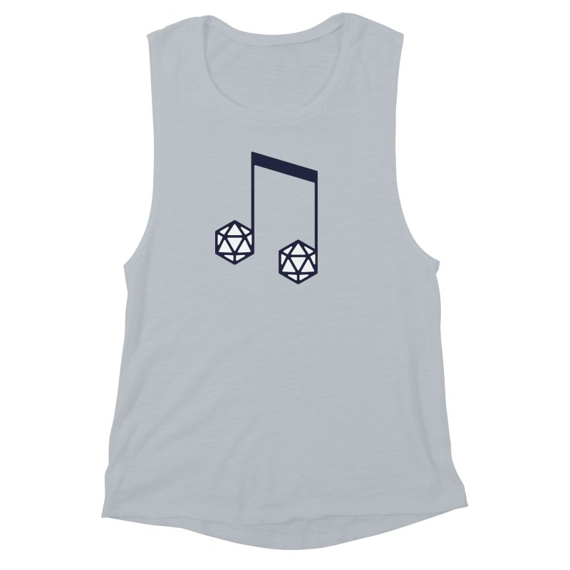 bomBARDed Logo (no text) Women's Muscle Tank by bomBARDed Merch!
