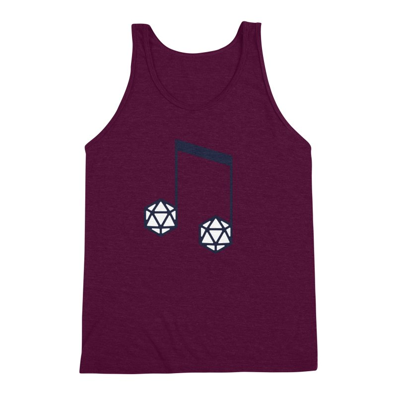 bomBARDed Logo (no text) Men's Triblend Tank by bomBARDed Merch!