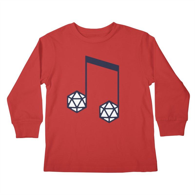 bomBARDed Logo (no text) Kids Longsleeve T-Shirt by bomBARDed Merch!
