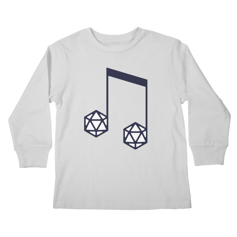 bomBARDed Logo (no text) Kids Longsleeve T-Shirt by bomBARDed Merch!