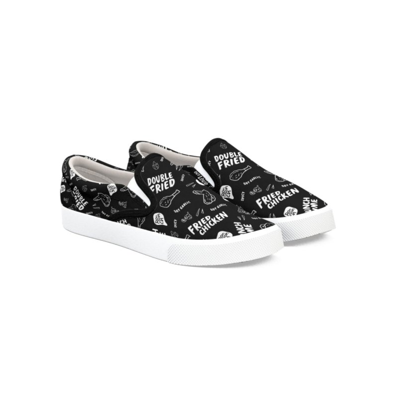 Bonchon Slip-Ons (Black) Men's Shoes by Bonchon