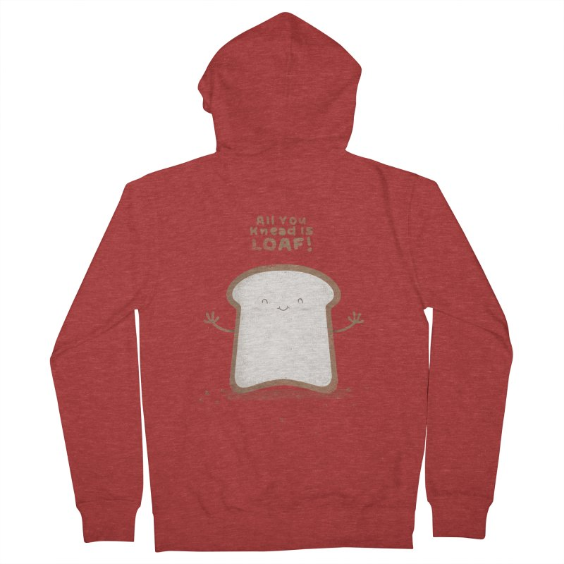 All You Knead Is Loaf Men's Zip-Up Hoody by boney's Artist Shop