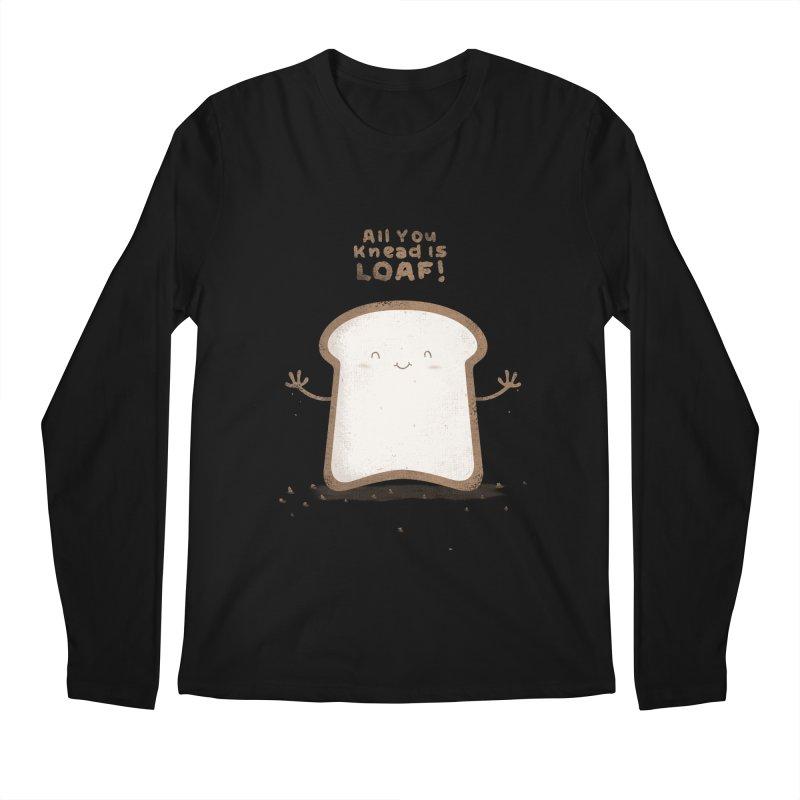 All You Knead Is Loaf Men's Longsleeve T-Shirt by boney's Artist Shop