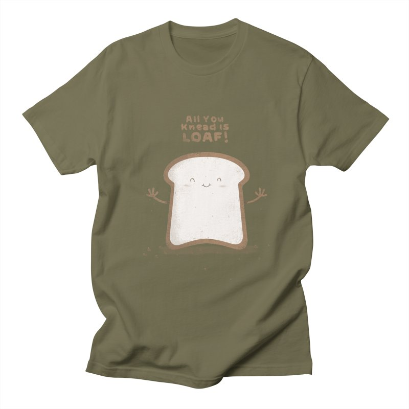 All You Knead Is Loaf Men's T-Shirt by boney's Artist Shop