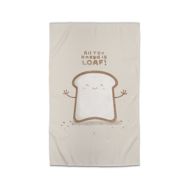 All You Knead Is Loaf Home Rug by boney's Artist Shop