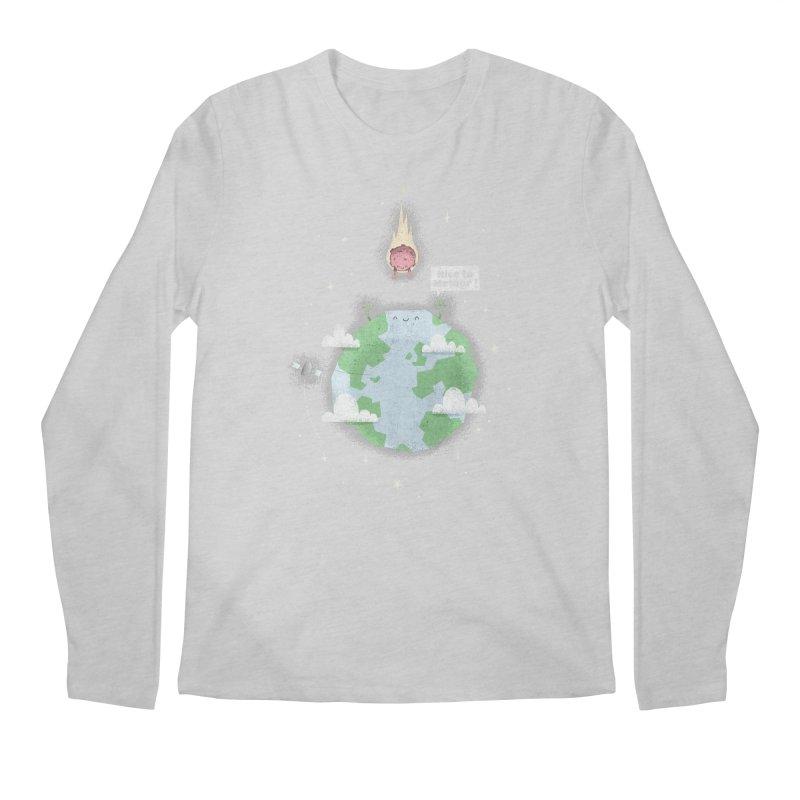 Nice To Meteor Men's Longsleeve T-Shirt by boney's Artist Shop