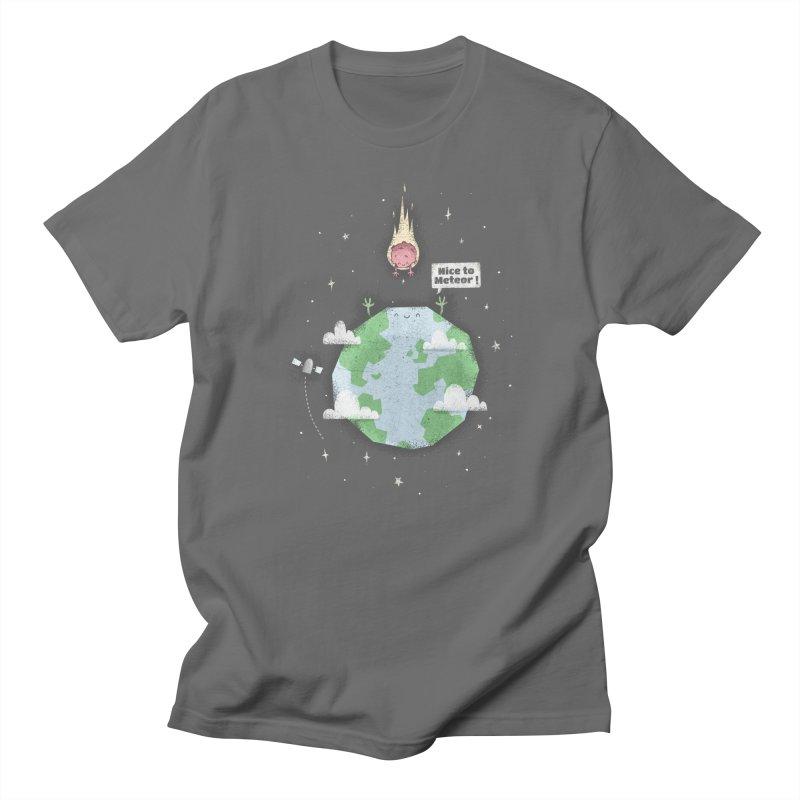Nice To Meteor Men's T-Shirt by boney's Artist Shop