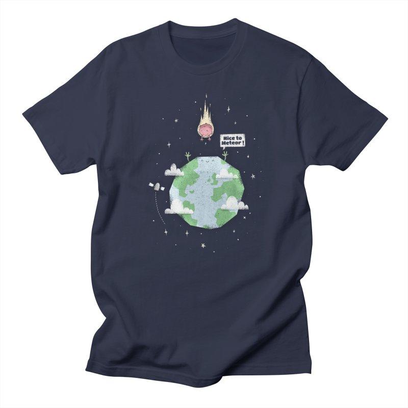 Nice To Meteor Women's Unisex T-Shirt by boney's Artist Shop