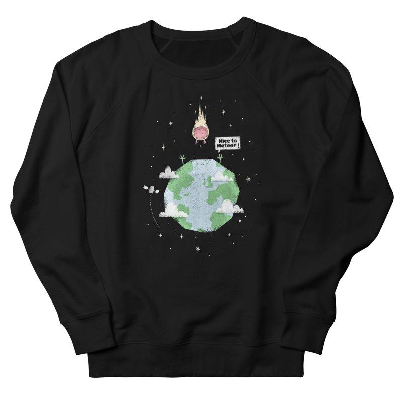 Nice To Meteor Women's Sweatshirt by boney's Artist Shop