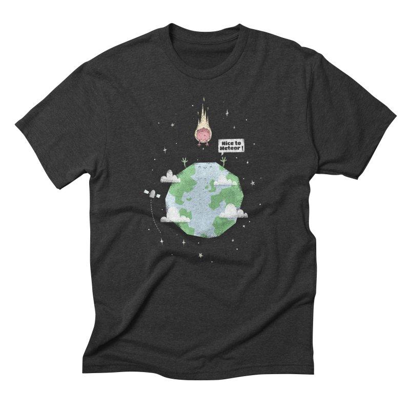 Nice To Meteor Men's Triblend T-Shirt by boney's Artist Shop