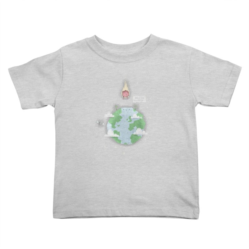 Nice To Meteor Kids Toddler T-Shirt by boney's Artist Shop