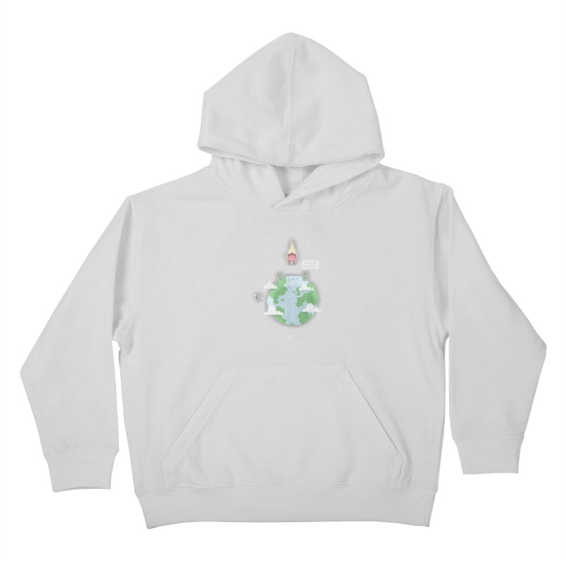 Nice To Meteor Kids Pullover Hoody by boney's Artist Shop
