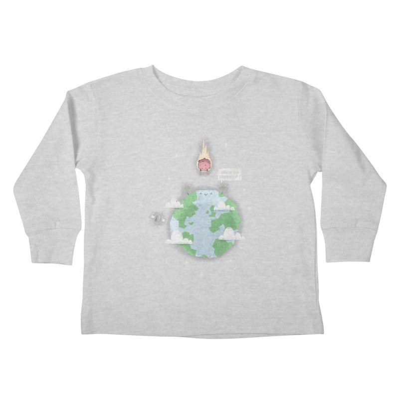 Nice To Meteor Kids Toddler Longsleeve T-Shirt by boney's Artist Shop