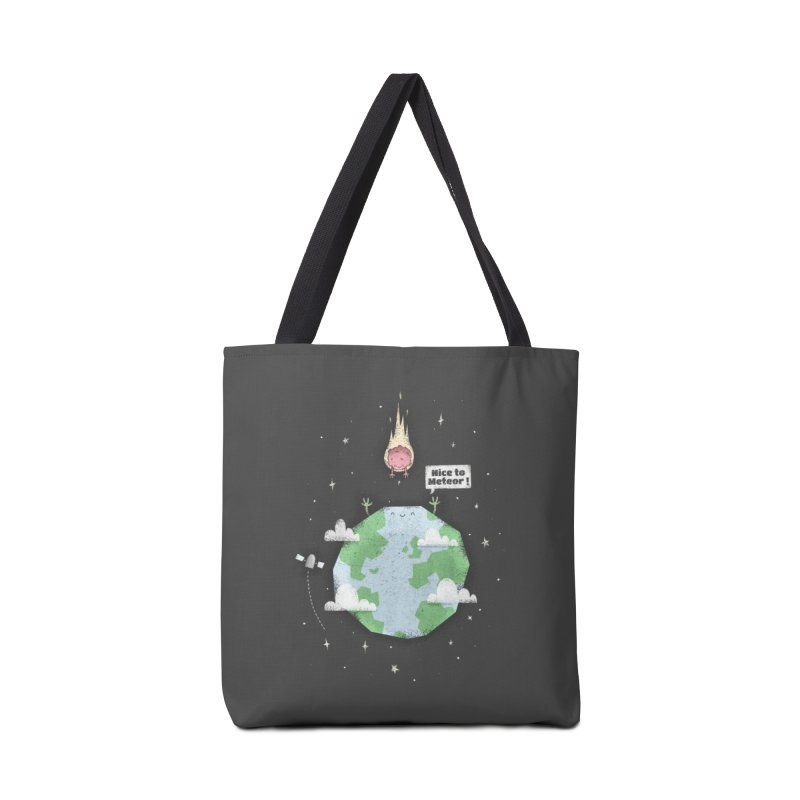 Nice To Meteor Accessories Bag by boney's Artist Shop