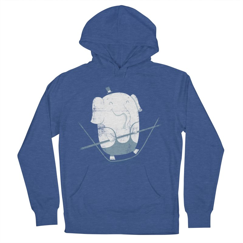 Balancing Act (Blue) Women's Pullover Hoody by boney's Artist Shop
