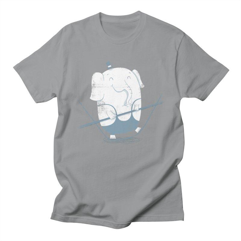 Balancing Act (Blue) Women's Unisex T-Shirt by boney's Artist Shop