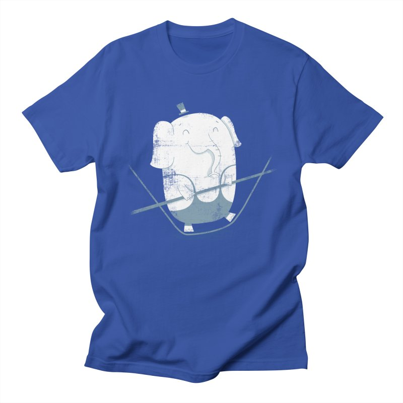 Balancing Act (Blue) Women's Unisex T-Shirt by boney's Artist Shop