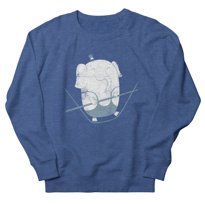 Balancing Act (Blue) Women's Sweatshirt by boney's Artist Shop