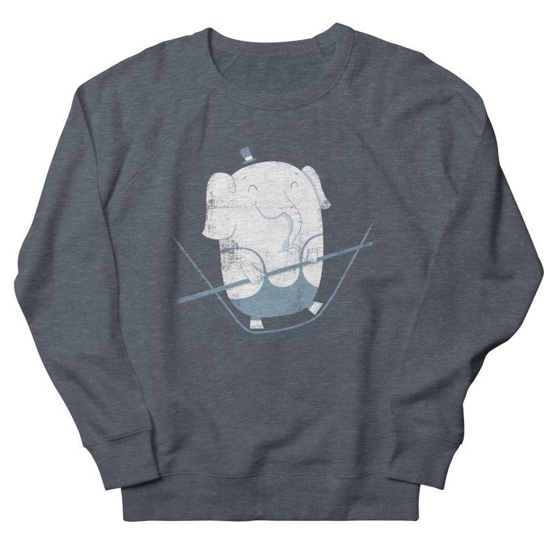 Balancing Act (Blue) Women's Sweatshirt by boney's Artist Shop