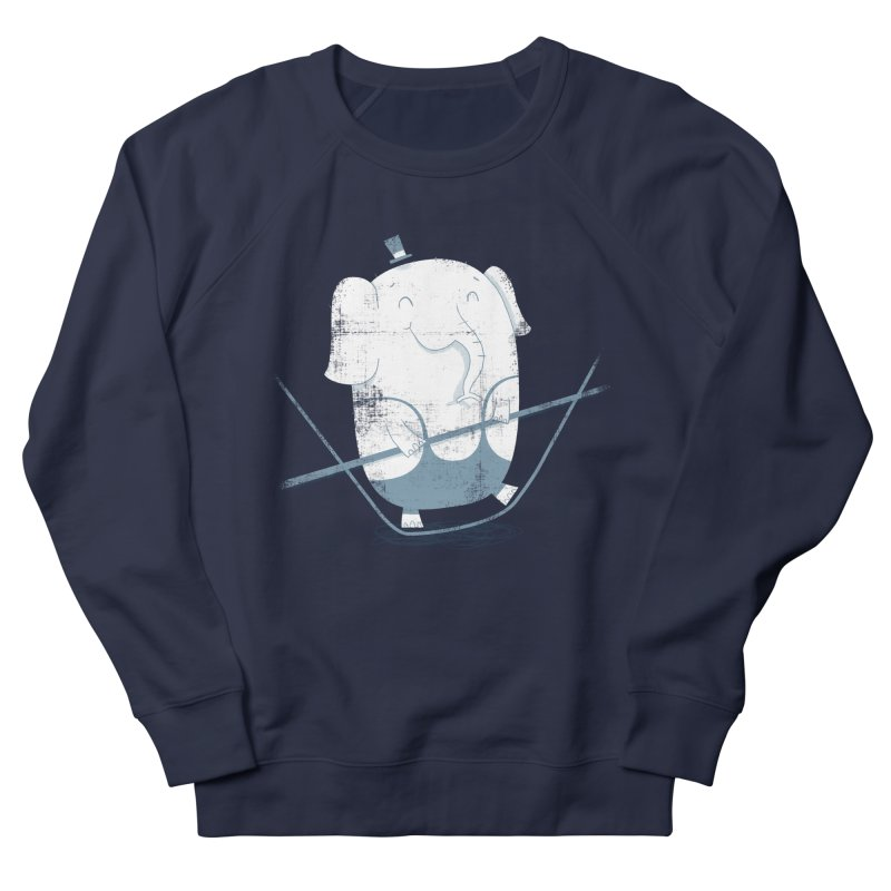 Balancing Act (Blue) Men's Sweatshirt by boney's Artist Shop