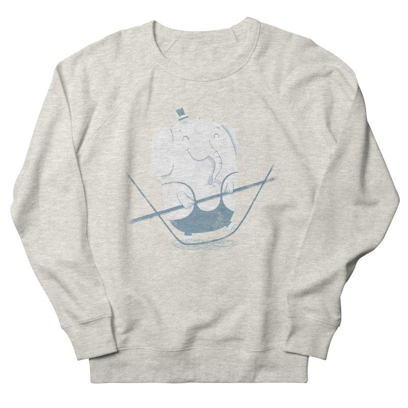 Balancing Act (Blue) Men's Sweatshirt by boney's Artist Shop