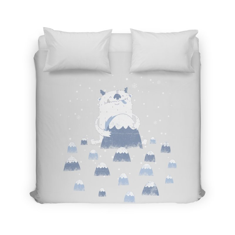Adorable Abominable Home Duvet by boney's Artist Shop