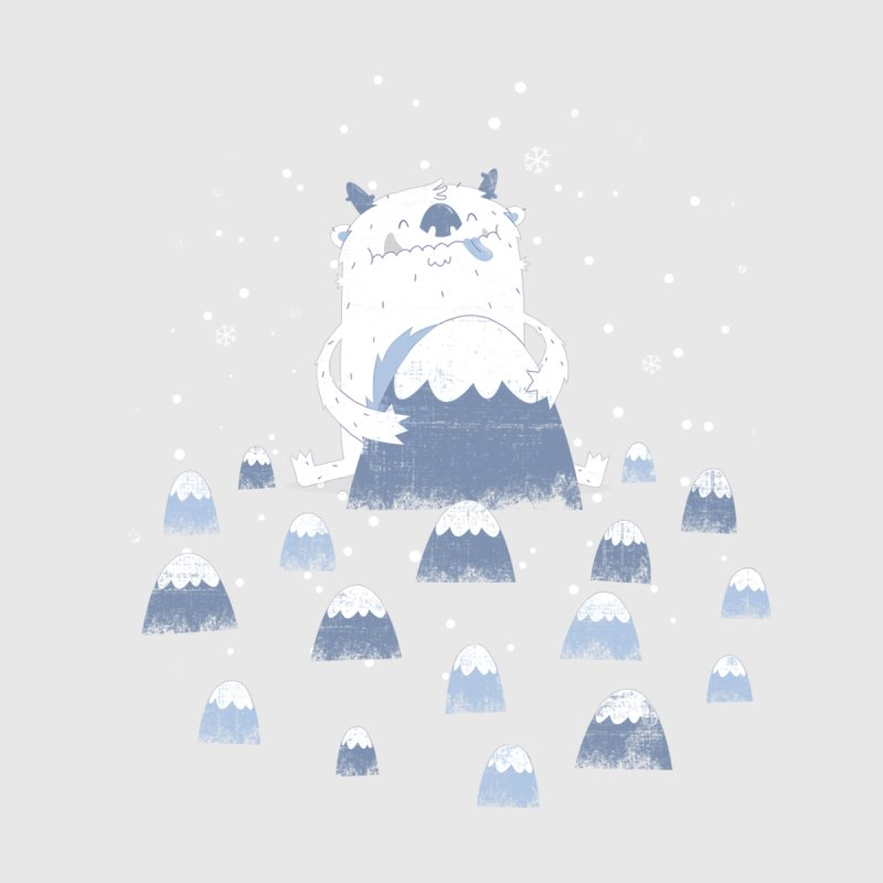 Adorable Abominable Men's V-Neck by boney's Artist Shop