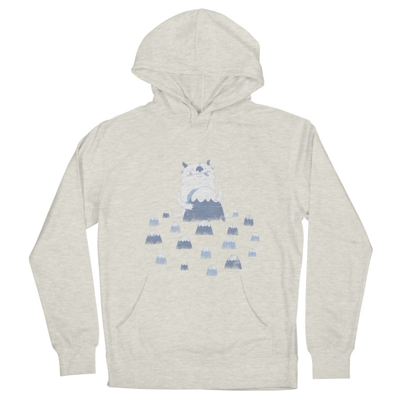 Adorable Abominable Women's Pullover Hoody by boney's Artist Shop