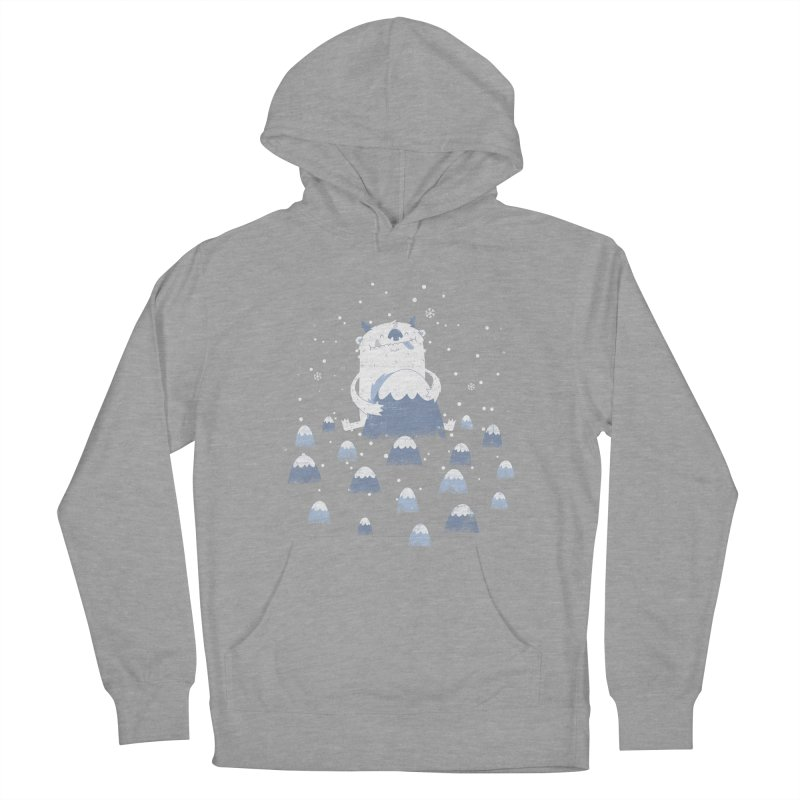 Adorable Abominable Men's Pullover Hoody by boney's Artist Shop