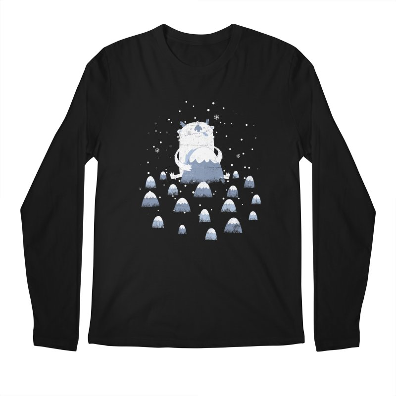 Adorable Abominable Men's Longsleeve T-Shirt by boney's Artist Shop