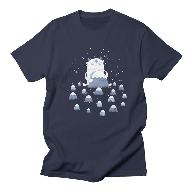 Adorable Abominable Women's Unisex T-Shirt by boney's Artist Shop