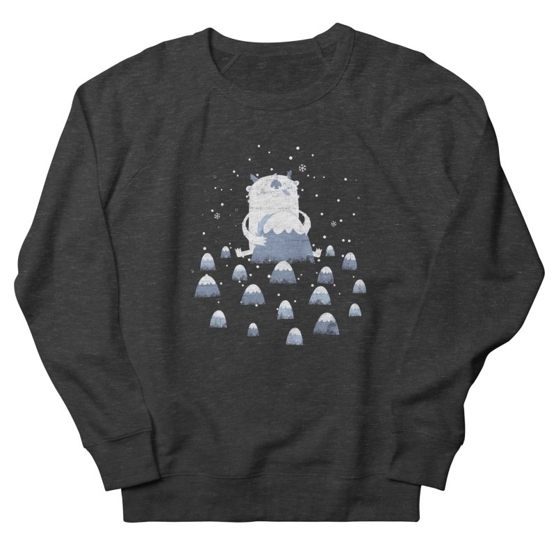 Adorable Abominable Women's Sweatshirt by boney's Artist Shop