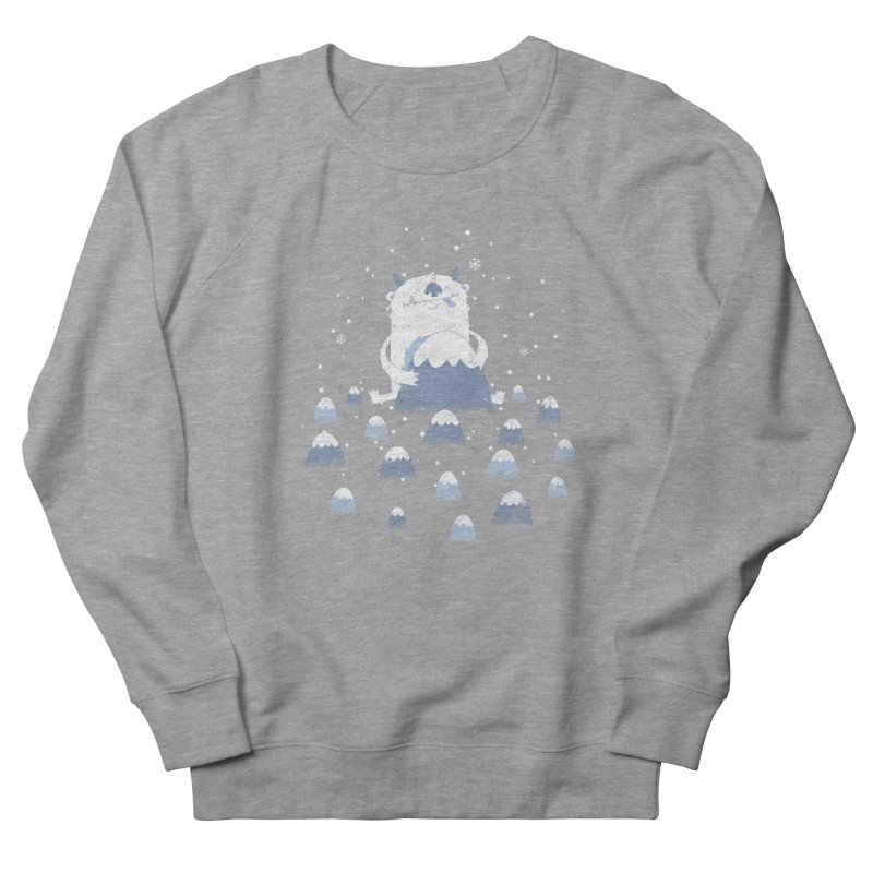Adorable Abominable Men's Sweatshirt by boney's Artist Shop