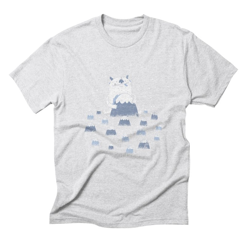 Adorable Abominable Men's Triblend T-Shirt by boney's Artist Shop