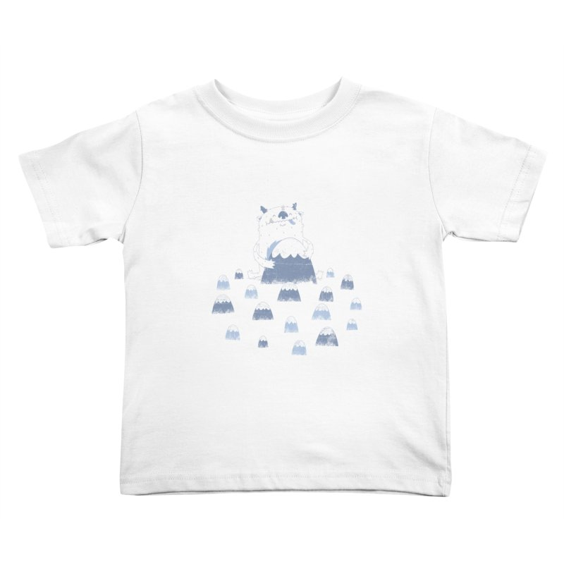 Adorable Abominable Kids Toddler T-Shirt by boney's Artist Shop