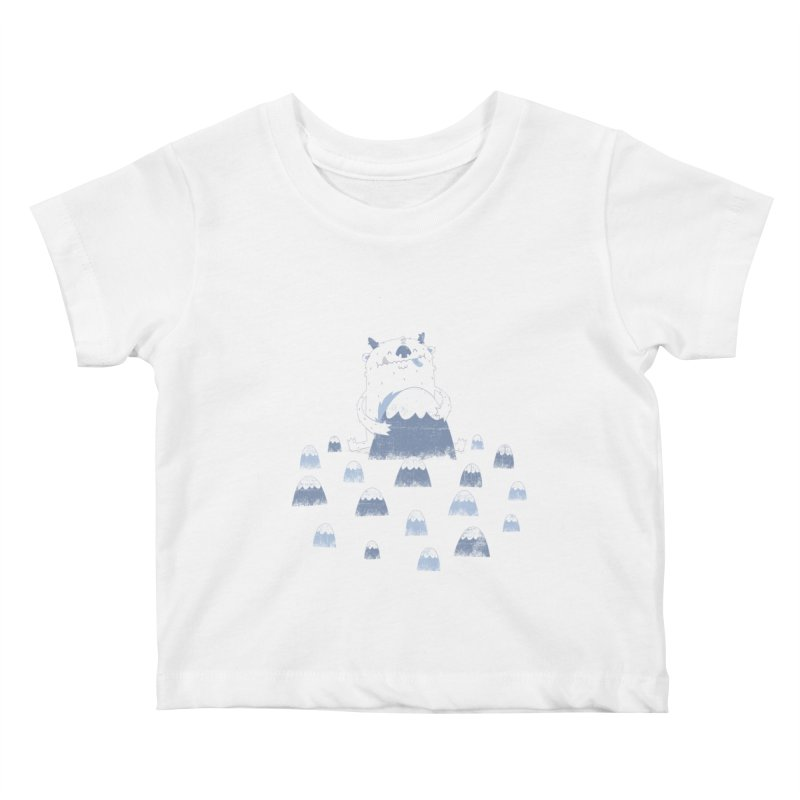Adorable Abominable Kids Baby T-Shirt by boney's Artist Shop