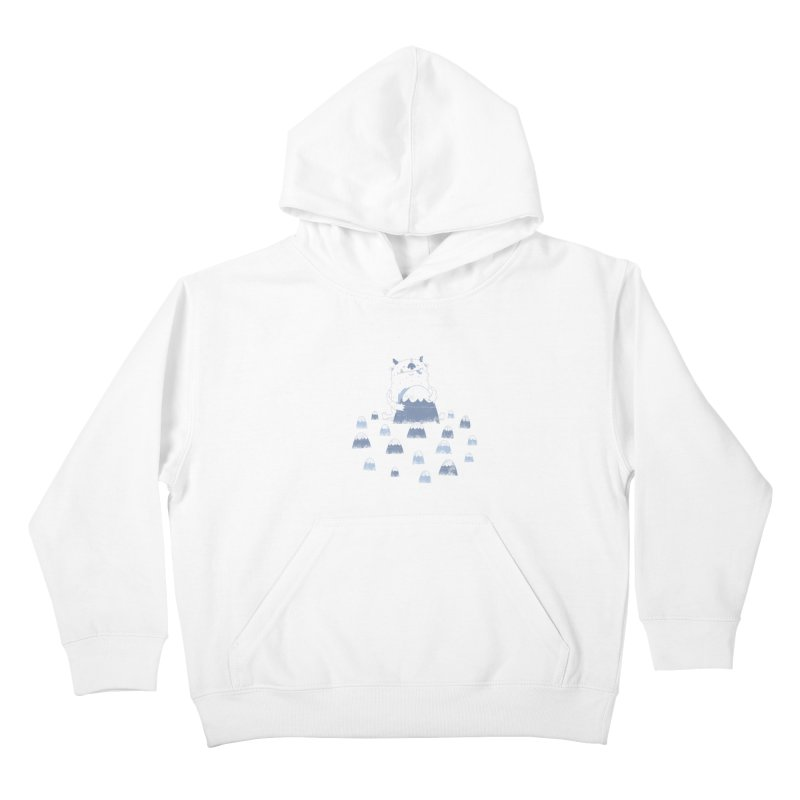 Adorable Abominable Kids Pullover Hoody by boney's Artist Shop