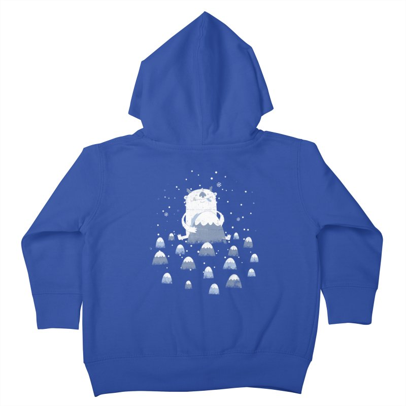 Adorable Abominable Kids Toddler Zip-Up Hoody by boney's Artist Shop
