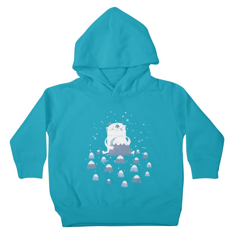 Adorable Abominable Kids Toddler Pullover Hoody by boney's Artist Shop