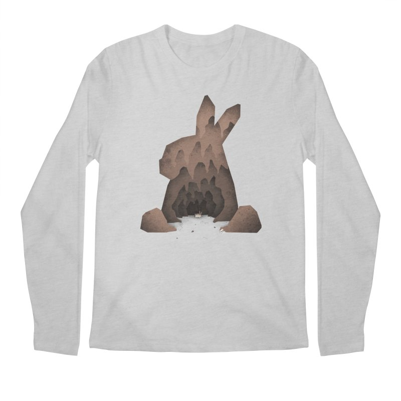 That's No Ordinary Rabbit Men's Longsleeve T-Shirt by boney's Artist Shop
