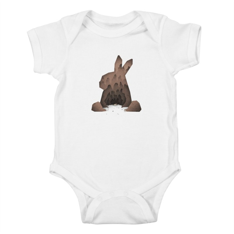 That's No Ordinary Rabbit Kids Baby Bodysuit by boney's Artist Shop