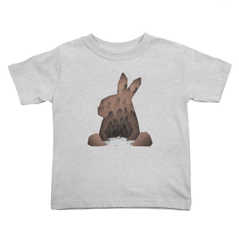 That's No Ordinary Rabbit Kids Toddler T-Shirt by boney's Artist Shop