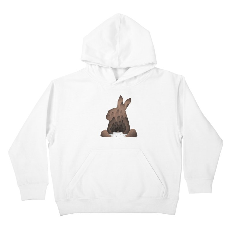 That's No Ordinary Rabbit Kids Pullover Hoody by boney's Artist Shop