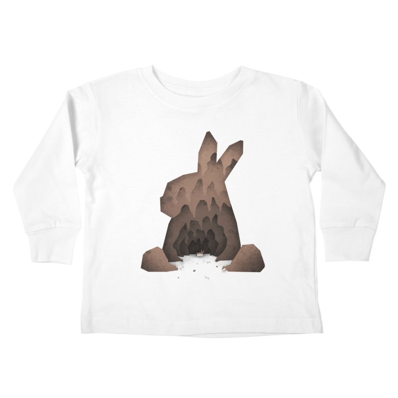 That's No Ordinary Rabbit Kids Toddler Longsleeve T-Shirt by boney's Artist Shop