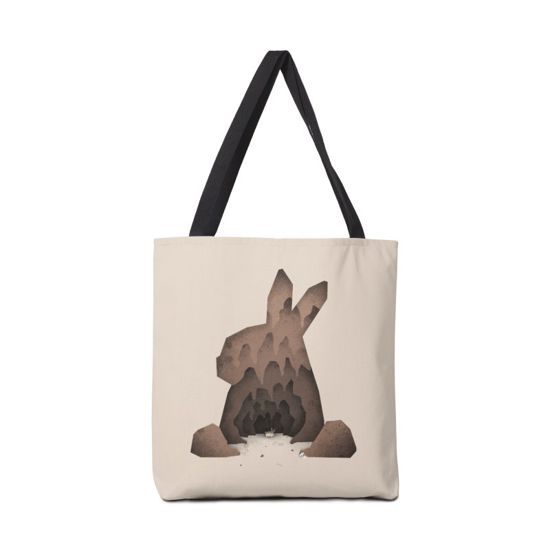 That's No Ordinary Rabbit Accessories Bag by boney's Artist Shop