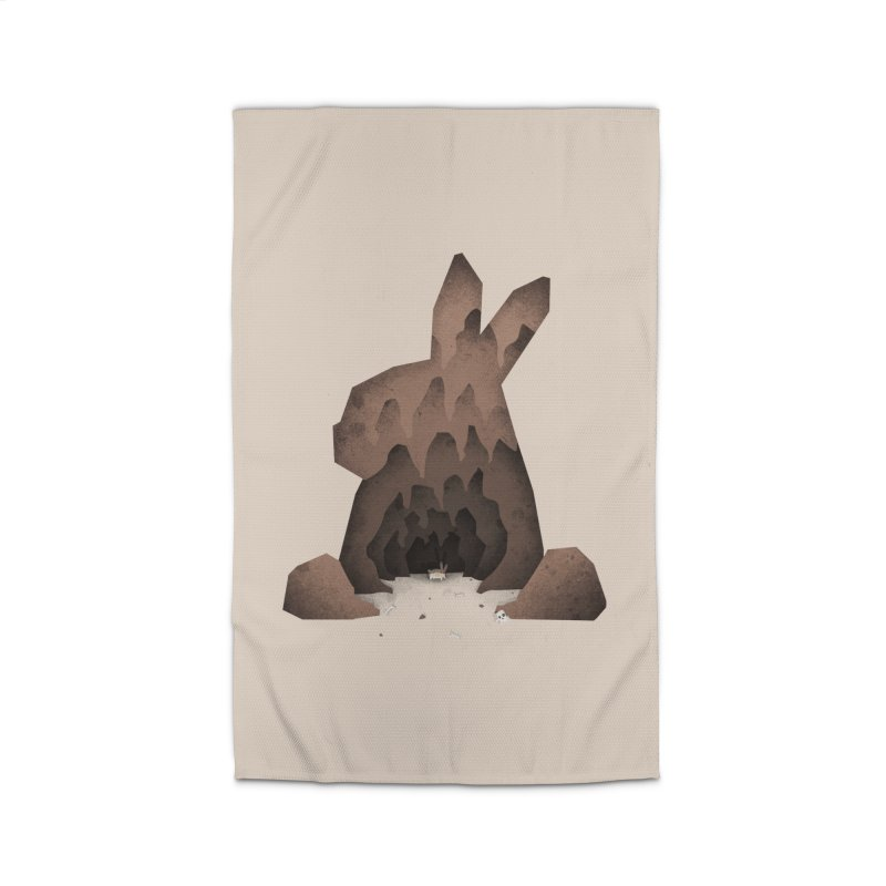 That's No Ordinary Rabbit Home Rug by boney's Artist Shop